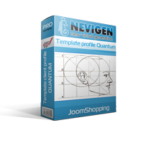 Template of client profile Quantum of JoomShopping