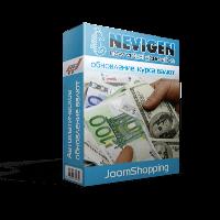 Автоматичне оновлення курсу валют JoomShopping