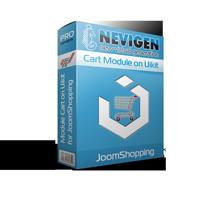 Модуль корзини для JoomShopping на базі Uikit