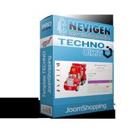 Quickstart TECHNO на базі JoomShopping  & Uikit3