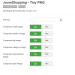 JPG and PNG image optimizer for JoomShopping
